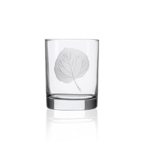Aspen Double Old Fashioned Glasses 14 oz Set of 4