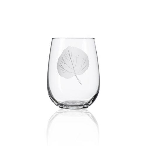 Aspen Stemless Glasses 17 oz Set of 4