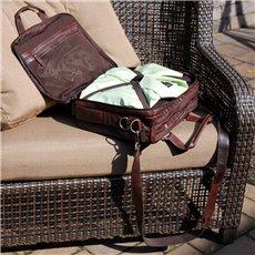 Voyager Triple Gusset Top Zip Business Travel Bag