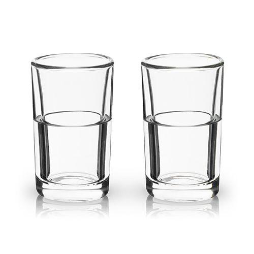 Glacier: Double Walled Chilling Shot Glasses by Viski
