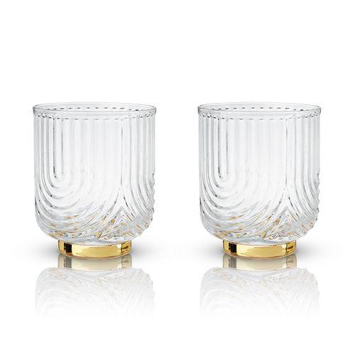 Belmont: Gatsby Glass Tumblers