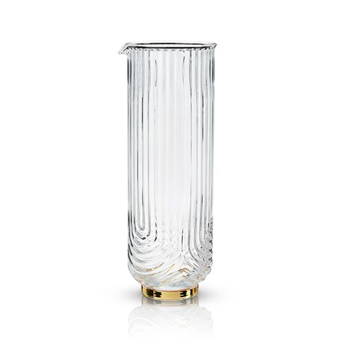 Belmont: Gatsby Glass Carafe