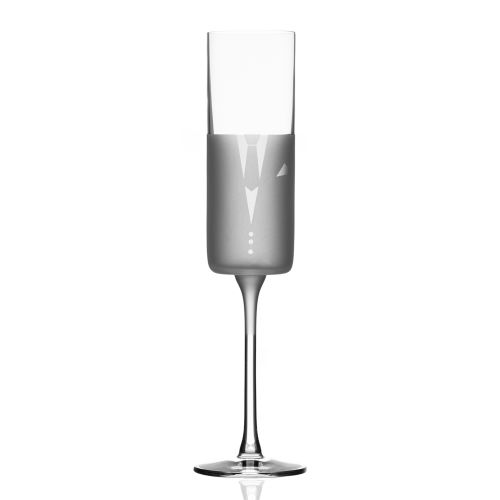 Wedding Cheers Series 2 (tux/tux) Champagne Flute 5.75 oz Set of 2