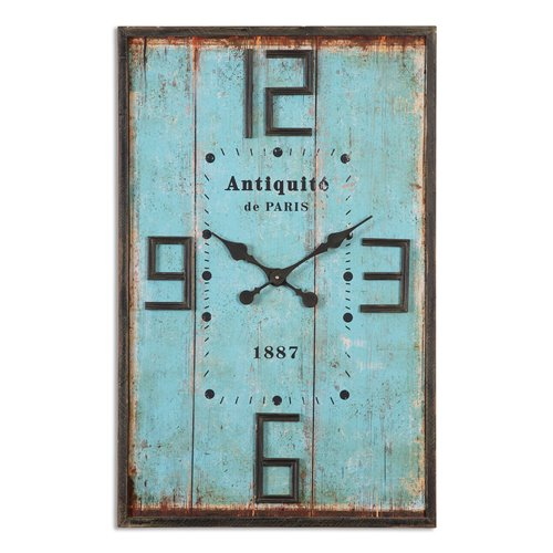 Uttermost Antiquite Distressed Wall Clock