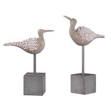 Uttermost Shore Birds Sculpture S/2