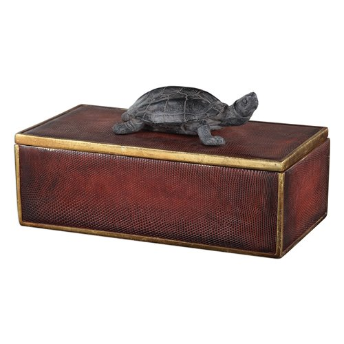 Uttermost Neagan Chestnut Brown Box