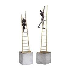 Uttermost Ladder Climb Sculpture S/2