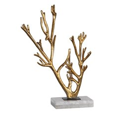 Uttermost Golden Coral Sculpture