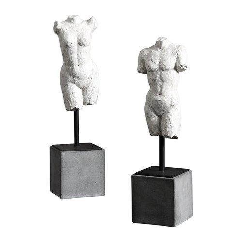 Uttermost Valini Torso Sculptures S/2