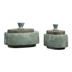 Uttermost Ruth Ceramic Boxes S/2