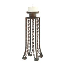 Uttermost Danu Aged Iron Candleholder