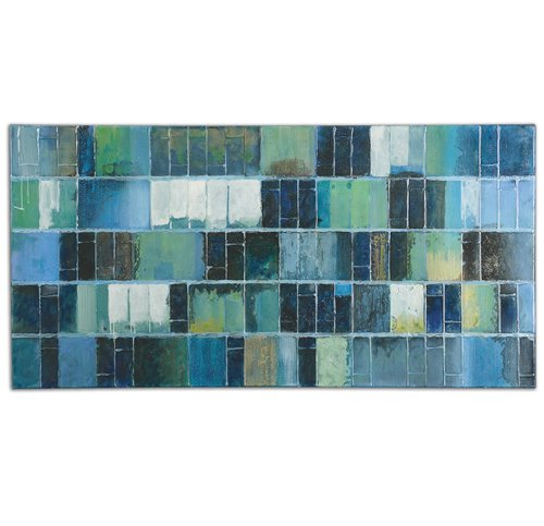 Uttermost Glass Tiles Modern Art