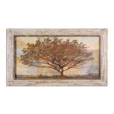 Uttermost Autumn Radiance Sepia Framed Art