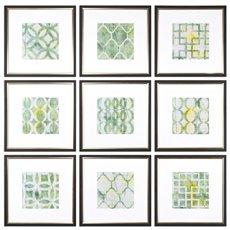 Uttermost Metric Links Geometric Art, S/9