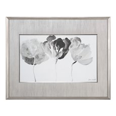 Uttermost Trio In Light Floral Print