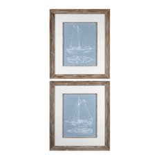 Uttermost Yacht Sketches S/2