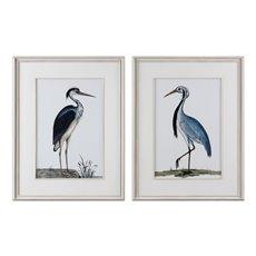 Uttermost Shore Birds Framed Prints S/2