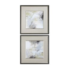 Uttermost Abstract Vistas Framed Prints S/2