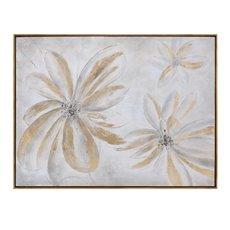 Uttermost Daisy Stars Floral Art
