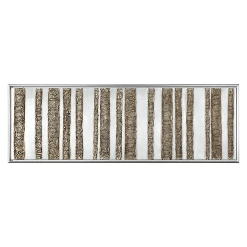 Uttermost Rustic Fence Abstract Art