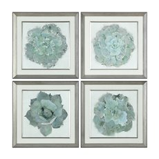 Uttermost Natural Beauties Botanical Prints S/4