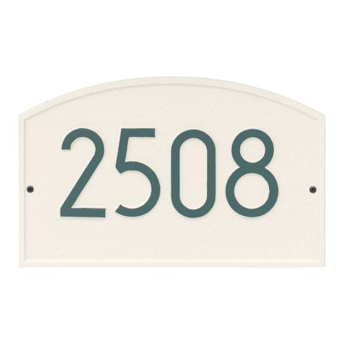 Legacy Modern Personalized Wall Plaque, Coastal Green