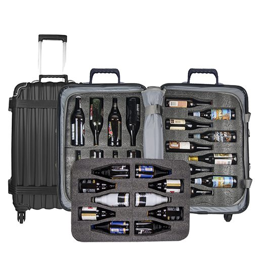 BierGardeValise Luggage Suitcase for Beer Bottles