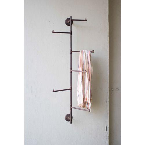 Rustic Wall Swivel Coat Rack