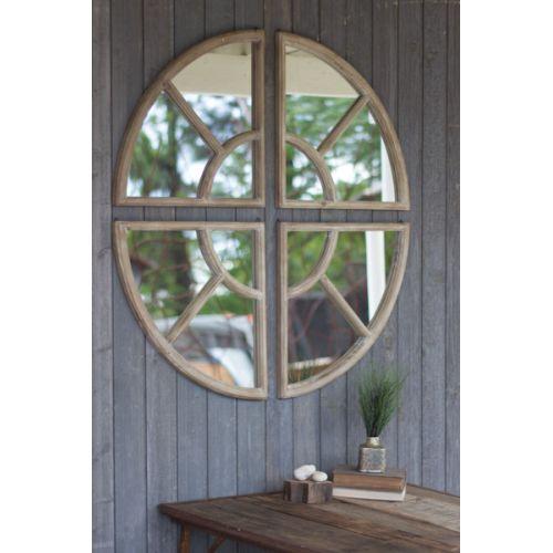Four Piece Circle Mirror