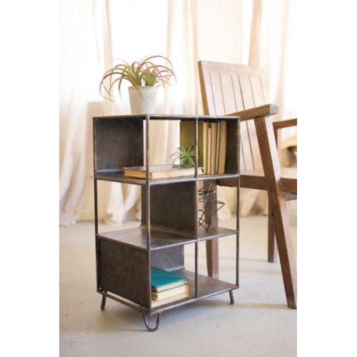 Short Metal Shelving Unit