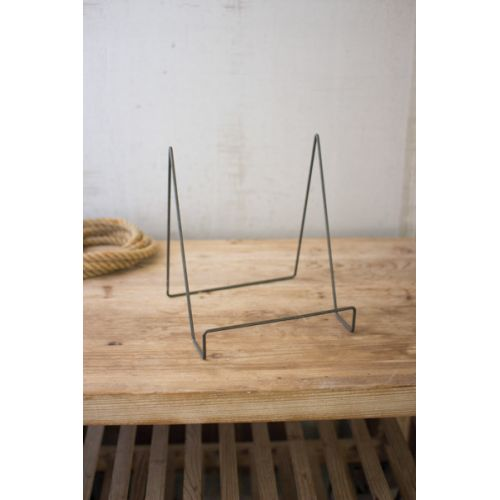 Wire Easel With Rawith Metal Finish - Large Set of 6