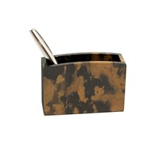 Tiger Eye Marble Pen Cup