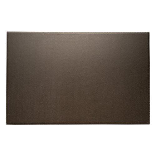 Coco Brown Leather 18x28 Desk Pad