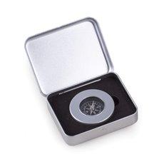 Aluminum Compass in Aluminum Case