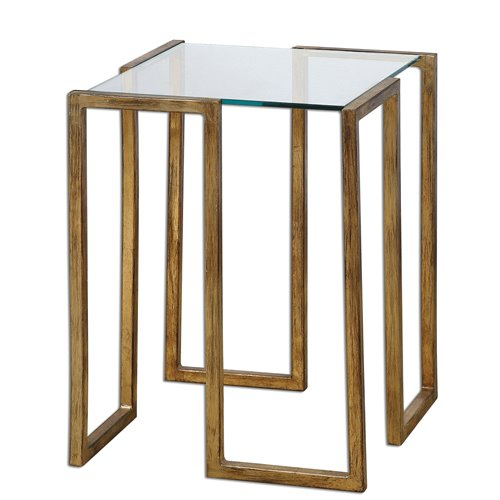 Uttermost Mirrin Accent Table