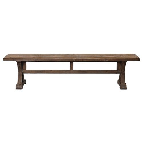 Uttermost  Stratford Salvaged Wood Bench