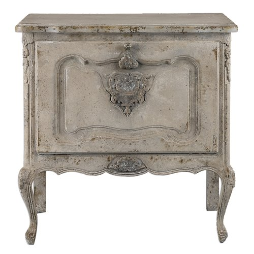 Uttermost Fausta Aged Ivory Accent Chest