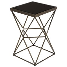 Uttermost Uberto Caged Frame Accent Table