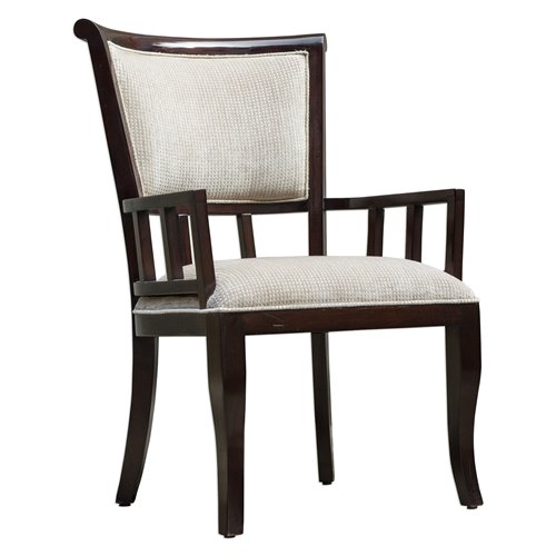 Uttermost Orlin Mahogany Accent Chair