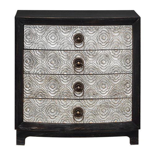 Uttermost Ramila Hand Carved Accent Chest
