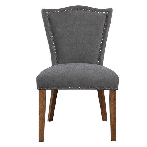 Uttermost Ruhls Gray Armless Chair