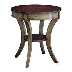 Uttermost Loukas Wooden Lamp Table