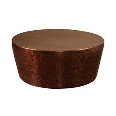 Uttermost Hania Hammered Rustic Bronze Coffee Table