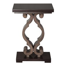 Uttermost Parina Ebony Accent Table