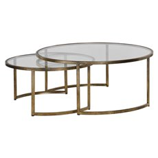 Uttermost Rhea Nested Coffee Tables S/2