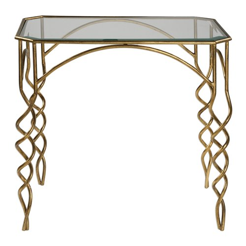 Uttermost Lora Gold End Table