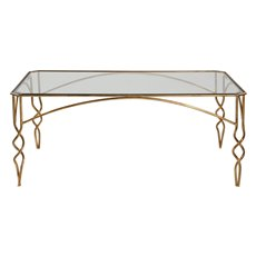 Uttermost Lora Gold Coffee Table