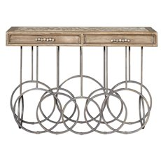 Uttermost Silana Stone Mosaic Console Table