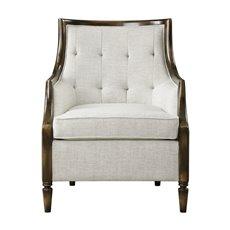 Uttermost Barraud Oatmeal Accent Chair