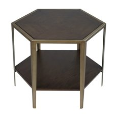 Uttermost Alicia Geometric Accent Table